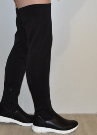 Классные стрейчевые ботфорты  blanko 37 38  39  40