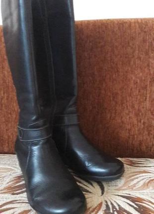 Шкіряні іспанські чобітки не сток 36розміру 24см