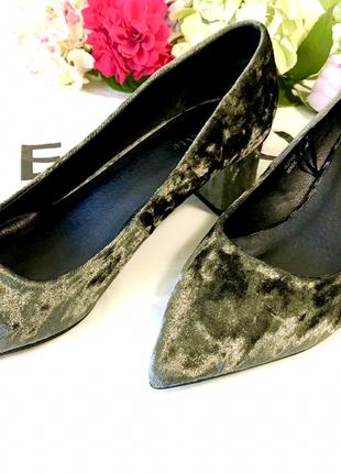 Туфли на широком каблуке🎄☃️🎄 полный 38