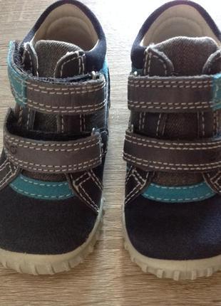 Ecco ботиночки mimic осенние ботинки мешти мештики размер 21 туфли