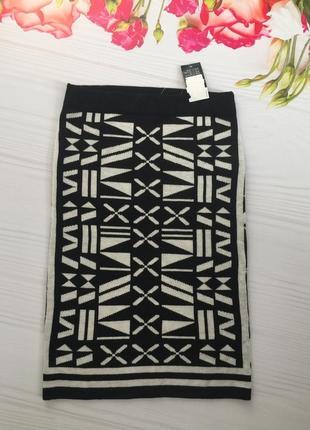 Юбка миди/ вязанная юбка карандаш