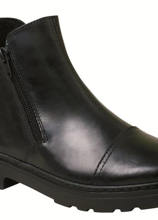 H-4 кожаные ботинки 36-41рр