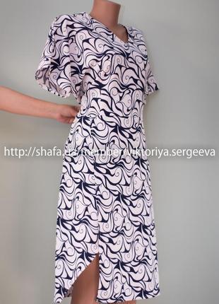 Большой выбор платьев - новое с биркой асимметричное платье миди большого размера