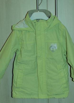 Куртка-ветровка timberland (2 года/92см)