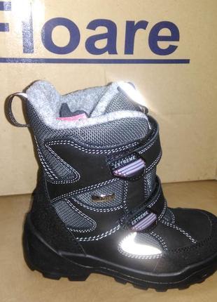 Зимние мембранные сапожки 28-35 р kapika на мальчика, замш, ботинки, сапоги, зима, капика