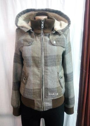 Куртка пальтишко размер uk 10 наш 44