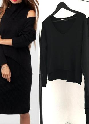 Костюм свитер+платье (италия)