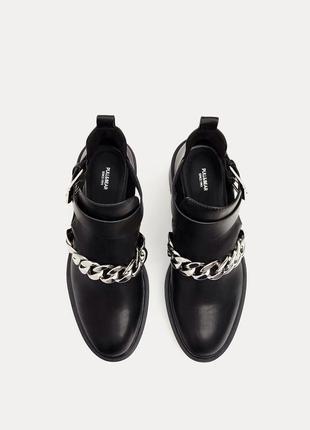 Модные ботинки pull&bear в стиле givenchy