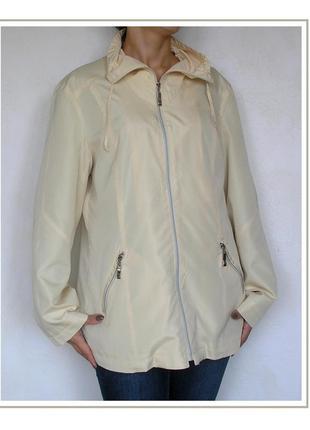 L, лимонная легкая ветровка куртка дождевик парка,