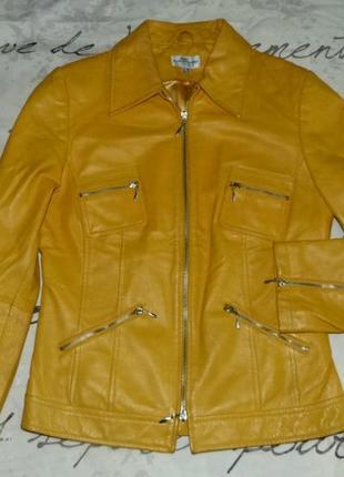 Кожаная куртка. супер !  best connections/100 % натур. кожа.