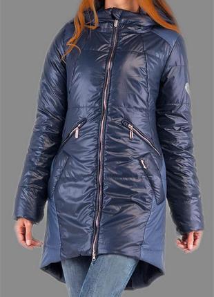 Новая фирменная двухцветная куртка-пальто  milhan.