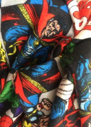 Теплая пижама лонгслив домашняя одежда marvel унисекс все супергерои 1596071da8e1c