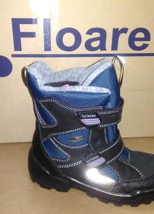Зимние мембранные сапожки 28-35 р kapika на мальчика, замш, сапоги, зима, капика, ботинки