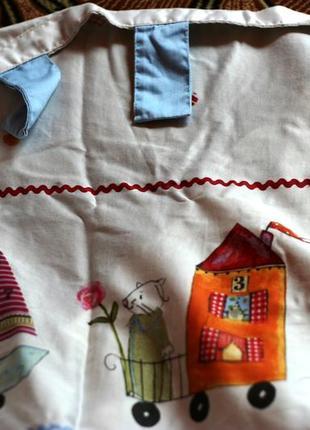 Шторы детские на петлях штори дитячi шторы для детской ширма