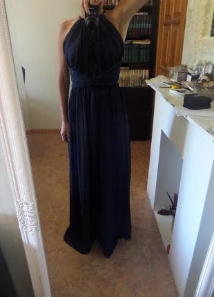 Длинное вечернее платье от asos