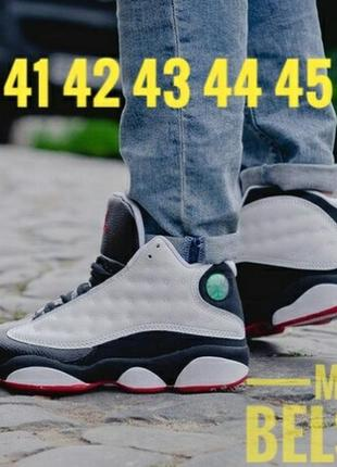 41 42 43 44 45 шикарные кроссовки на осень зиму nike air jordan black cat black white