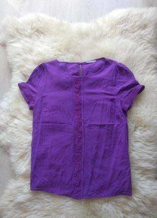Блуза/ футболка/ блуза/ блузка/ блуза с кружевом