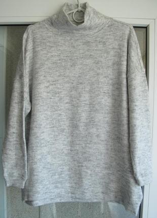Стильный теплый свитер oversaze от бренда new look.