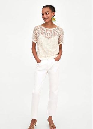 Шикарная блуза , топ кофта zara
