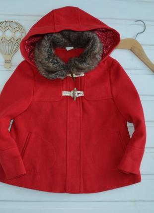 1,5-2 года, пальто яркое стильное,tu