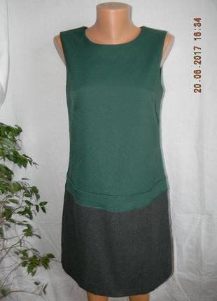 Теплое новое платье шерсть doudle