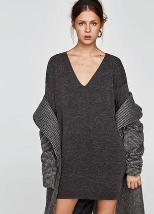 Свитер оверсайз платье свитер 💯%тонкая шерсть