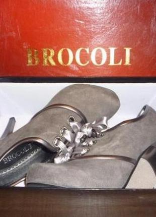 Демисезонные ботинки (ботильоны) замшевые