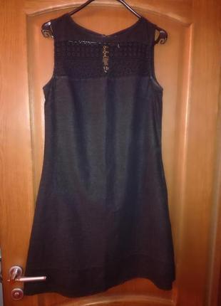 Платье льняное, 100% linen