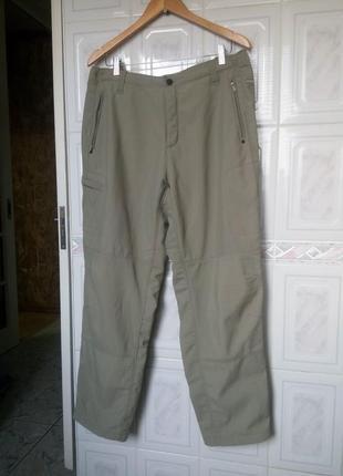 Сolumbia grt softshell утепленные трекинговые туристические штаны софтшел на микрофлисе