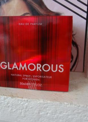 Туалетная женская вода glamorous , гламурус фармаси farmasi, 50м