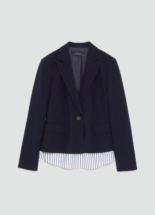 Стильный пиджак новый zara