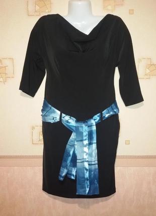 Элегантное платье с карманами пог 45 см