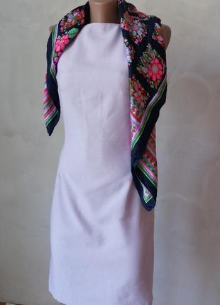 Ніжне лілове плаття карандаш класика по фігурі