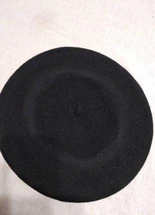 Чешский фетровый берет tonak fezko черный