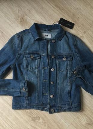 Джинсовая куртка new look new look2