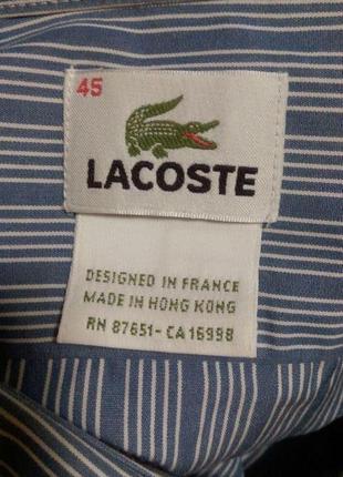 Стильная рубашка из натуральной ткани полоса3