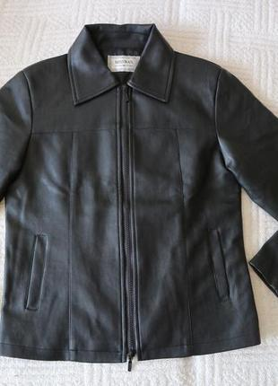 Куртка женская misswan из искусственной кожи