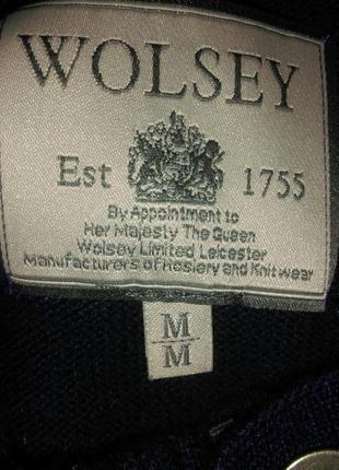 Джемпер свитер в составе шерсть wolsey3