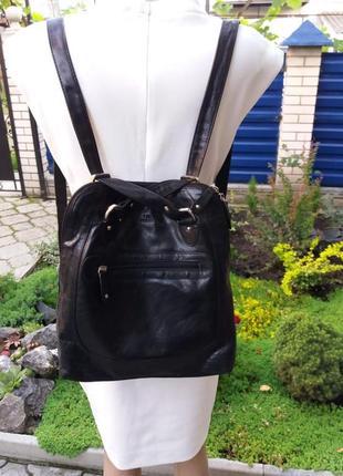 Стильная сумка рюкзак италия