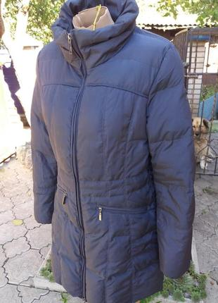 Шикарный зимний пуховик от geox