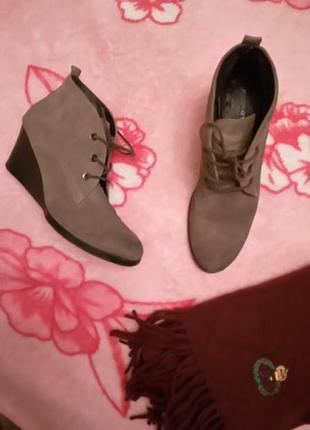 Кожаные ботиночки roberto santi