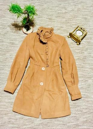 Стильное пальто весна- осень