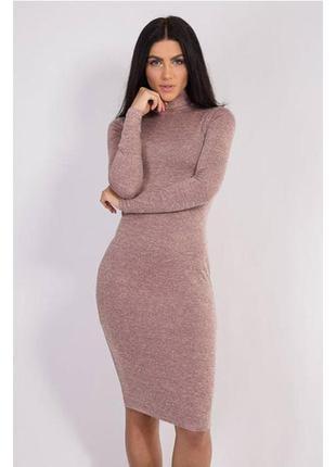 Класическое  теплое платье!