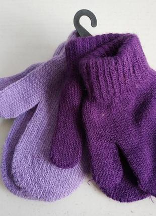 Детские варежки рукавицы комплект wonderkids, walmart сток из америки