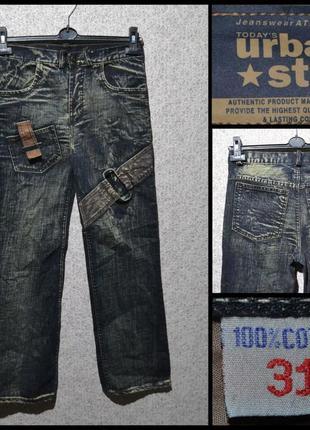 Брендові штани джинсові чоловічі today's urban star w31 [німеччина] (брюки джинсы мужские)