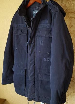 Теплая хлопковая куртка/парка brandit original