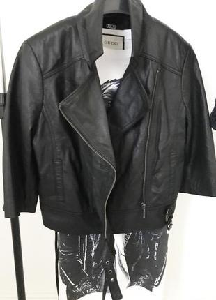 Куртка кожа натуральная asos
