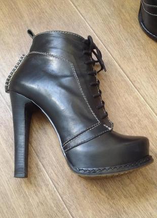 Ботильоны ботинки mario muzi