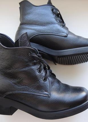 Отличные зимние ботиночки с натуральной кожи