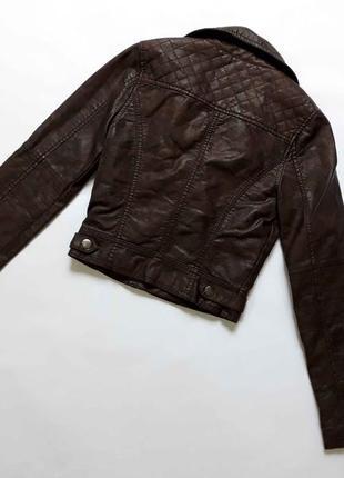 Красивая стильная куртка косуха для девочки2